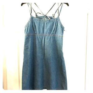 Mini jeans dress